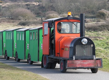 Hengistbury Head Land Train