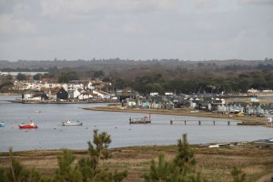 Mudeford from Hengisberry Head