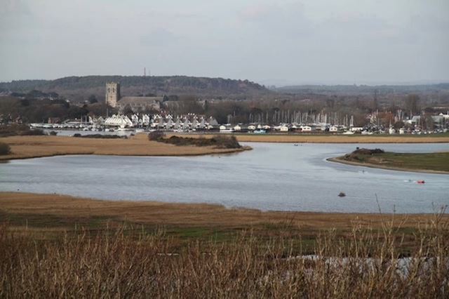 Christchurch Harbour From Hengisberry Head